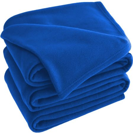 Blue Polar Fleece Blankets