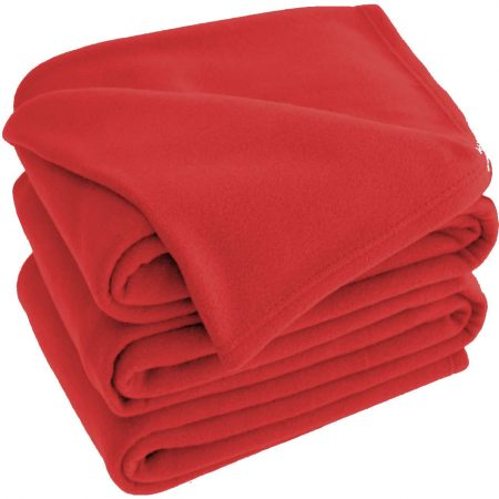 Red Polar Fleece Blankets 120x150cm