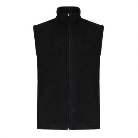 Micro Fleece Bodywarmer, Black (Sizes S-XL)